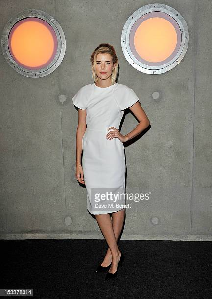 Agyness Deyn attends the Gala Screening of 'Pusher' at Hackney Picturehouse on October 4 2012 in London England