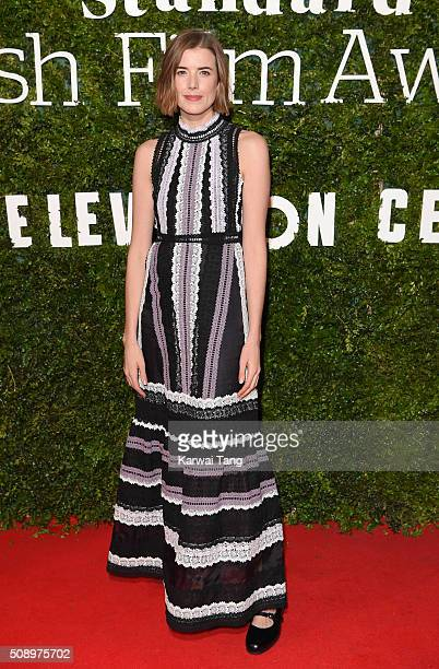 Agyness Deyn attends the London Evening Standard British Film Awards at Television Centre on February 7 2016 in London England