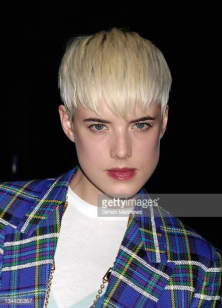 Agyness Deyn attends the TOD's Art Plus Film Party at 1 Marylebone Road on March 6 2008 in London England