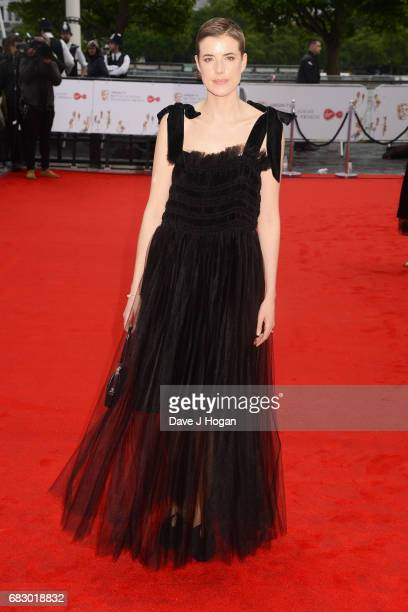 Agyness Deyn attends the Virgin TV BAFTA Television Awards at The Royal Festival Hall on May 14 2017 in London England