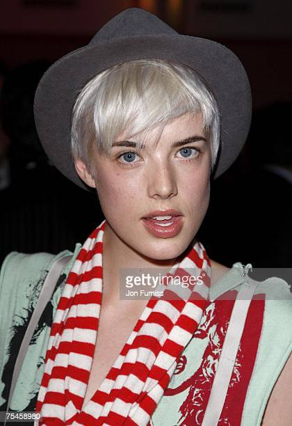 Agyness Deyn attends the Westfield London & British Fashion Council Fashion Forward Party at the Haymarket Hotel in London, Great Britain on July 17,...