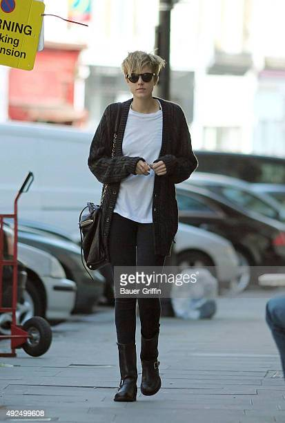 Agyness Deyn is seen on March 23, 2011 in London, United Kingdom.