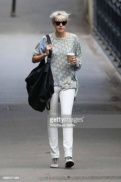 Agyness Deyn is seen on May 10 2011 in London United Kingdom