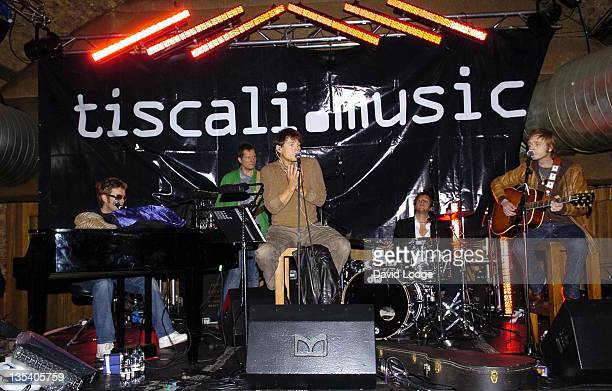 AHa during Tiscali Secret Sessions at Cargo in London April 3 2006 at Cargo in London Great Britain