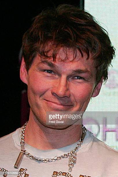 AHa 's singer Morten Harket during AHa InStore Performance and Album Signing for 'Analogue ' at HMV in London January 30 2006 at HMV Oxford Street in...