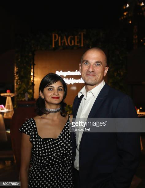 Ahd Kamel and guest attend Piaget celebrates Abdullah Al Kaabi's talent by hosting a private screening of his short film 'More Than Love' at Peregine...