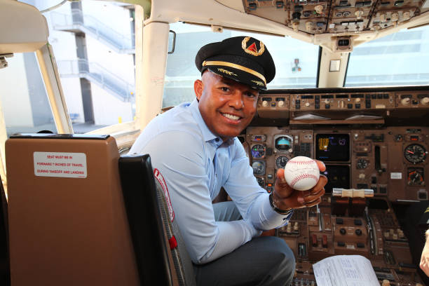 NY: Delta Air Lines Dedicates 757 Aircraft and Terminal 4's Gate 42 At JFK Airport To Mariano Rivera Before Hall Of Fame Induction