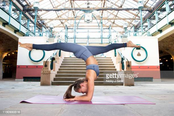 Ahead of International Day of Yoga , yoga teacher Helen Russell-Clark prepares to celebrate the return of lululemon's Sweatlife Festival at Londons...