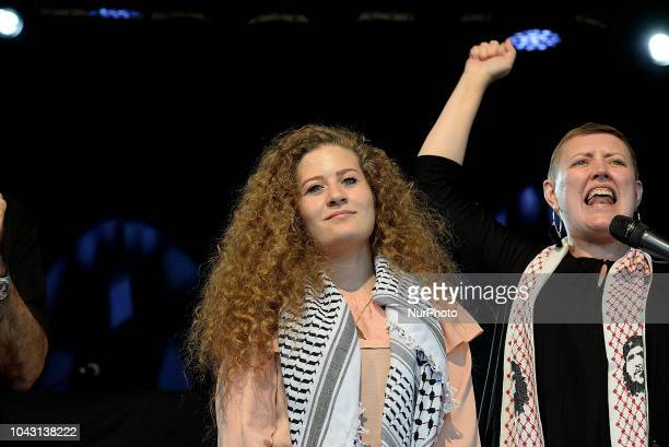 Ahed Tamimi to take part in the FiestaPCE18 in a great act of solidarity with Palestine people
