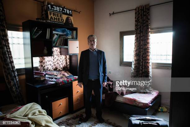 Ahed Tamimi's father in his home in Nabi Salih Tamimi is a strong family activist Ahed was arrested in December 2017 and she was condemned for 8...