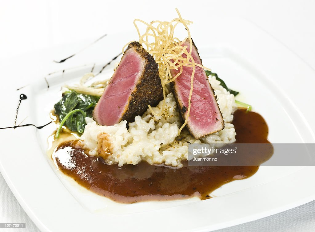 Ahi Tuna fillet : Stock Photo
