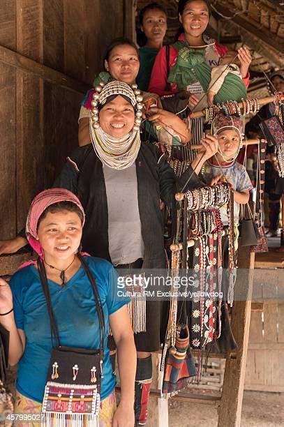 Ahkha tribe, Shan State, Keng Tung, Burma