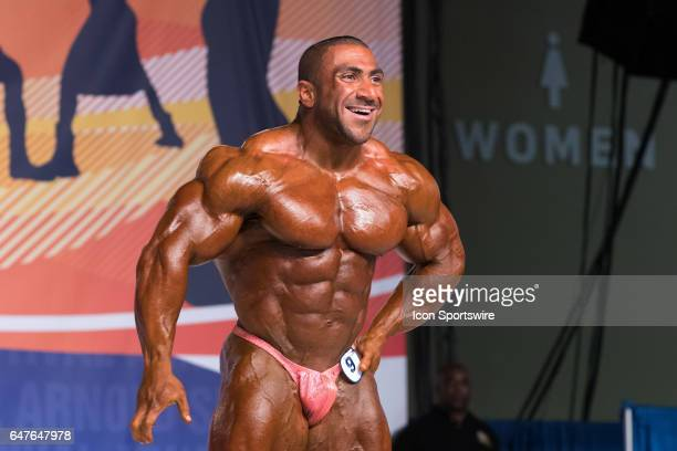 Ahmad Ashkanani competes in the Arnold Classic 212 as part of the Arnold Sports Festival on March 3 at the Greater Columbus Convention Center in...