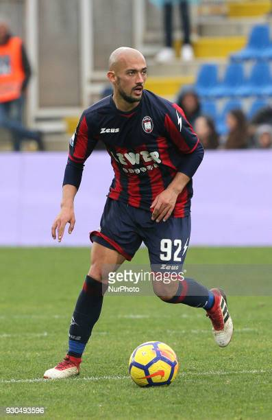 Ahmad Benali of Crotone controls the ball during the serie A match between FC Crotone and UC Sampdoria at Stadio Comunale Ezio Scida on March 11 2018...
