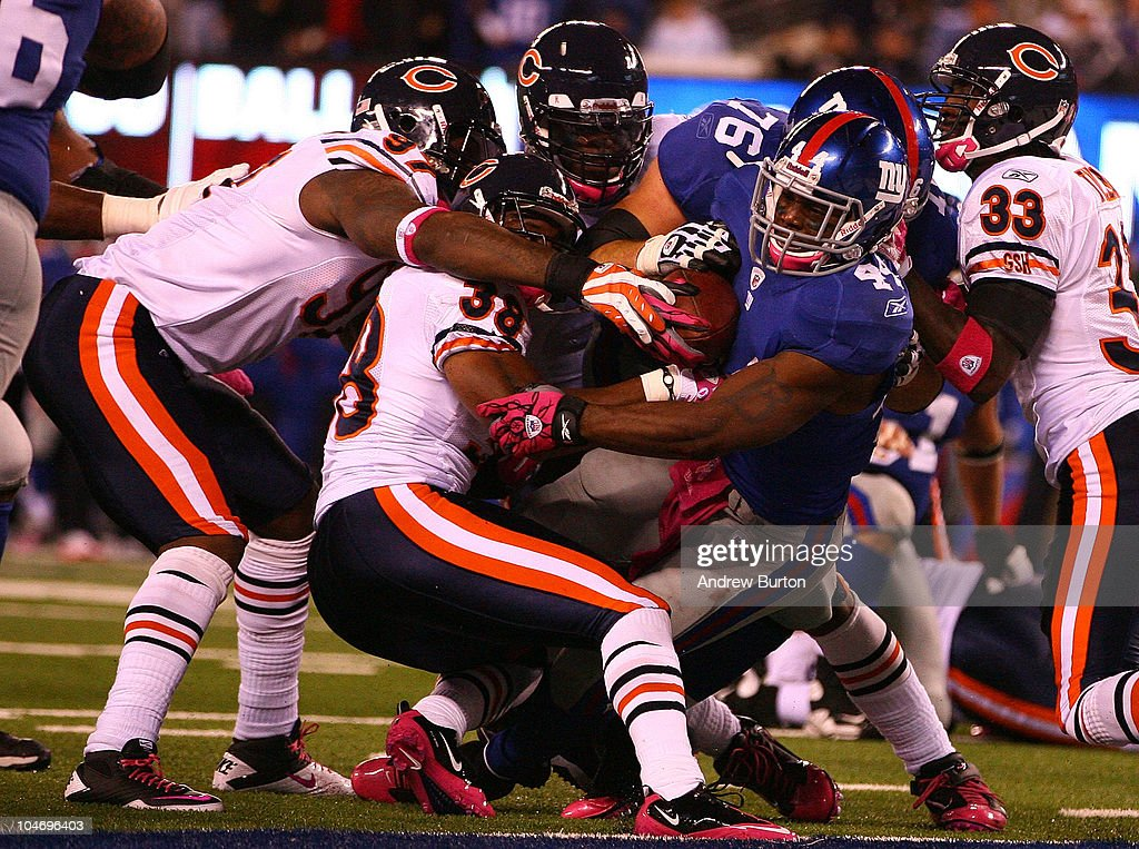 Chicago Bears v New York Giants