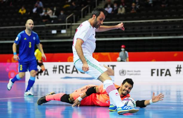 LTU: IR Iran v Kazakhstan: Quarter Final - FIFA Futsal World Cup 2021