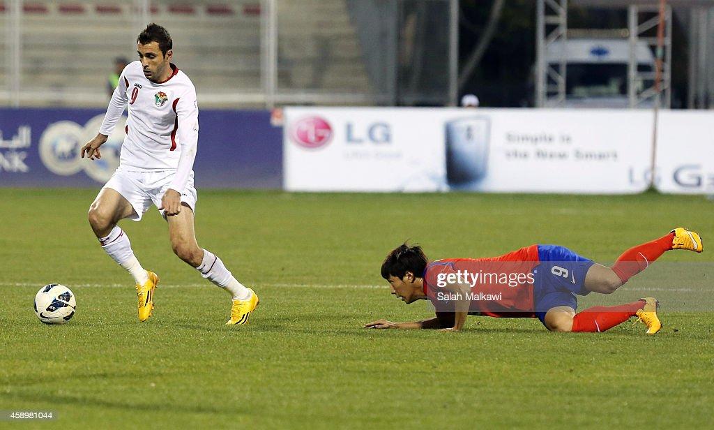 Jordan v South Korea - International Friendly : News Photo