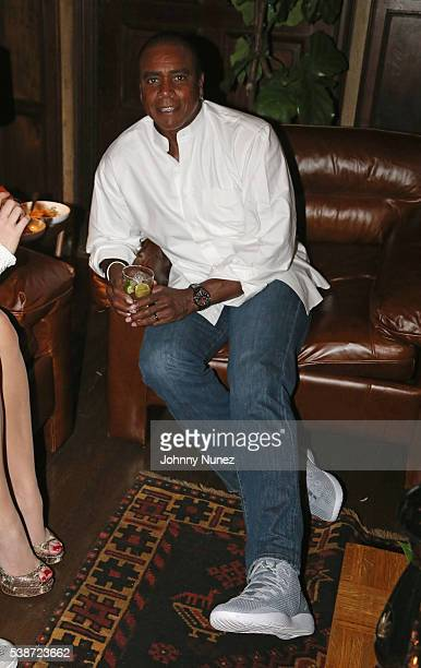 Ahmad Rashad attends An Intimate Evening With Michael Jordan And Neymar Jr on June 1 2016 in New York City