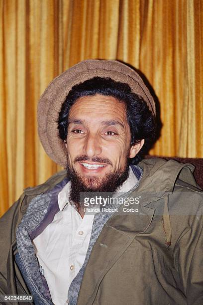 Ahmad Shah Massoud in Kabul after the fall of the city on April 29 after the mujahideen defeated Mohammad Najibullah's forces in Kabul