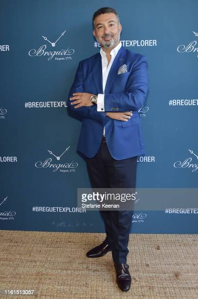 Ahmad Shahriar attends Breguet Marine Collection Launch at Little Beach House Malibu on July 11 2019 in Malibu California
