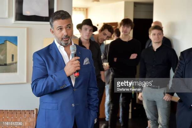 Ahmad Shahriar speaks at Breguet Marine Collection Launch at Little Beach House Malibu on July 11 2019 in Malibu California