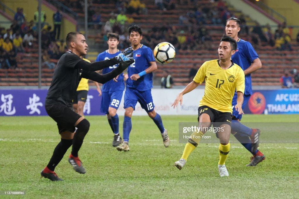 MYS: Malaysia v Philippines - AFC U-23 Championship Qualifier