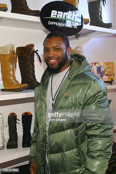 Ahman Green at Earth Shoes during 2007 Park City - Village at the Lift - Day 5 at Village at the Lift in Park City, Utah, United States.