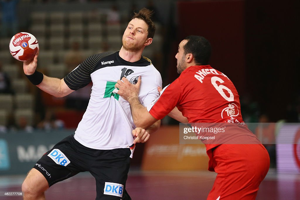 Germany v Egypt Eight Finals - 24th Men's Handball World Championship