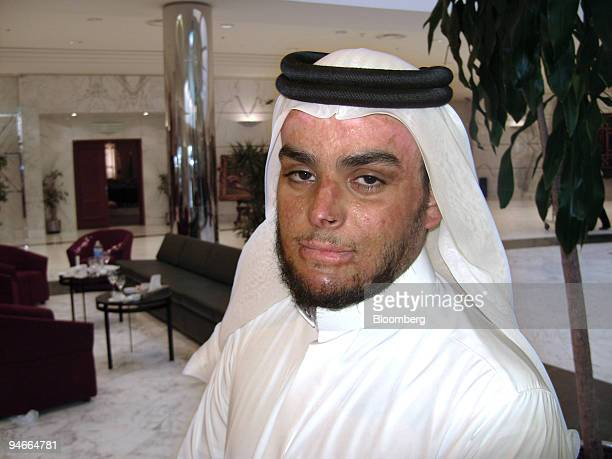 Ahmed Abullah alShaya a 23yearold who was severely injured when a bomb he was carrying exploded poses in Riyadh Saudi Arabia on Wednesday Nov 21 2007...