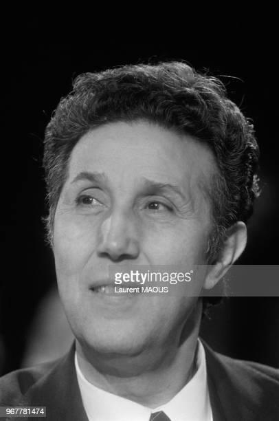 Ahmed Ben Bella ancien président algérien le 27 juin 1981 à Paris France