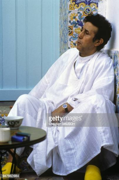Ahmed Ben Bella in 1981 in Algiers Algeria