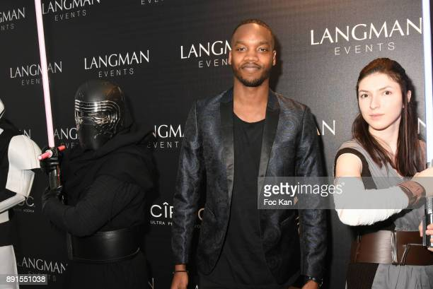 Ahmed Drame attends the Star Wars Party at Le Saint Fiacre on December 12 2017 in Paris France