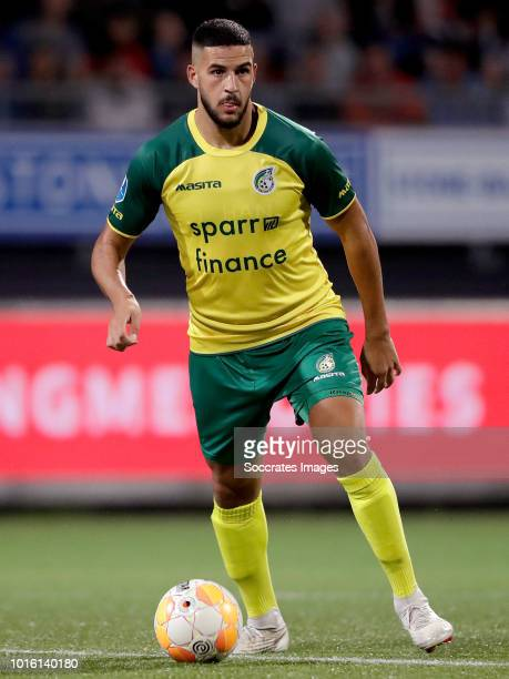Ahmed El Messaoudi of Fortuna Sittard during the Dutch Eredivisie match between Excelsior v Fortuna Sittard at the Van Donge De Roo Stadium on August...