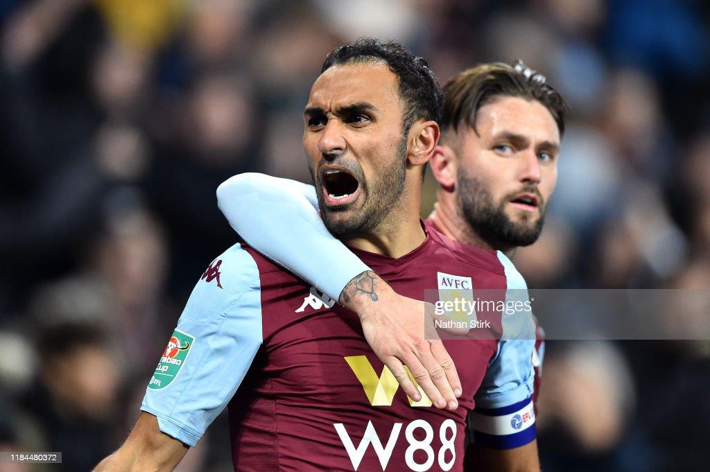 Aston Villa v Wolverhampton Wanderers - Carabao Cup Round of 16 : News Photo