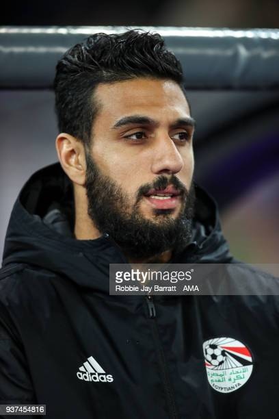 Ahmed El Shenawy of Egypt during the International Friendly match between Portugal and Egypt at Stadion Letzigrund on March 23 2018 in Zurich...