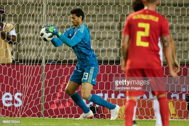 Ahmed El Shenawy of Egypt during the International Friendly match between Belgium v Egypt at the Koning Boudewijnstadion on June 6 2018 in Brussel...