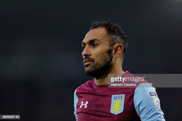 Ahmed Elmohamady of Aston Villa during the Sky Bet Championship match between Derby County and Aston Villa at iPro Stadium on December 16 2017 in...