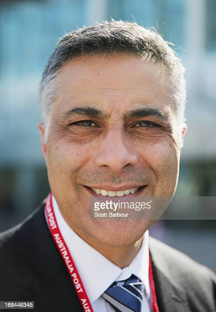 Ahmed Fahour Managing Director and Chief Executive Officer of Australia Post looks on at the World Stamp Expo on May 10 2013 in Melbourne Australia...