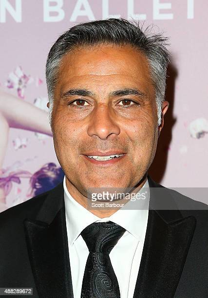 Ahmed Fahour Managing Director and Group CEO of Australia Post attends the Australian Ballet's 'The Sleeping Beauty' opening night at Arts Centre...