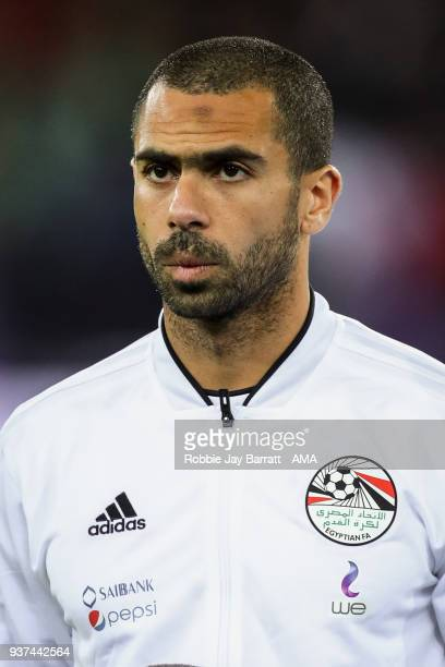 Ahmed Fathi of Egypt during the International Friendly match between Portugal and Egypt at Stadion Letzigrund on March 23 2018 in Zurich Switzerland