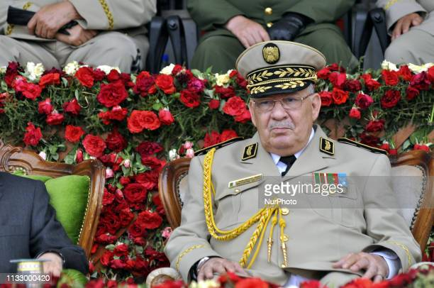 Ahmed Gaid Salah Chief of Staff of the Algerian Army on June 27 2012
