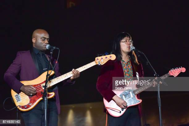 Ahmed Gallab Sinkane performs at The Aga Khan Foundation Gala at The Metropolitan Museum of Art on November 15 2017 in New York City