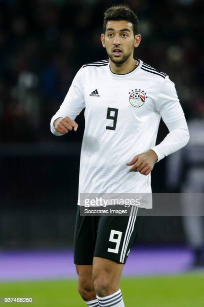 Ahmed Hassan of Egypt during the International Friendly match between Egypt v Portugal at the Letzigrund Stadium on March 23 2018 in Zurich...