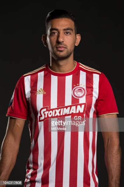 Ahmed Hassan Olympiacos Photocall Season 2018/19