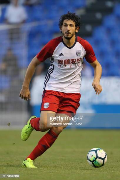Ahmed Hegazy of West Bromwich Albion during the PreSeason Friendly between Deportivo de La Coruna and West Bromwich Albion on August 5 2017 in La...