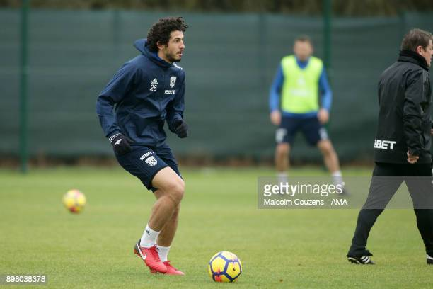 Ahmed Hegazy of West Bromwich Albion on December 19 2017 in West Bromwich England