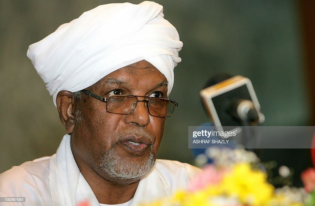 Ahmed Ibrahim al-Tahir, the new speaker of the recently elected parliament is seen during the first gathering of the Sudanese Parliament in Khartoum on May 24, 2010. Sudan's new parliament meet for the first time since the April legislative elections to elect the new speaker. The elections, the first multi-party polls in the war-ravaged country since 1986, were replete with technical problems, fraud charges and opposition boycotts according to the US-based Carter Centre that monitored the polls.
