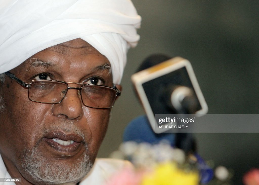 Ahmed Ibrahim al-Tahir, the new speaker of the recently elected parliament is seen during the first gathering of Parliament in Khartoum on May 24, 2010. Sudan's new parliament meet for the first time since the April legislative elections to elect the new speaker. The elections, the first multi-party polls in the war-ravaged country since 1986, were replete with technical problems, fraud charges and opposition boycotts according to the US-based Carter Centre that monitored the polls.