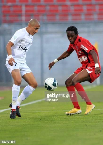 Ahmed KASHI / Abdoulaye BAMBA Dijon / Chateauroux 34eme journee de Ligue 2