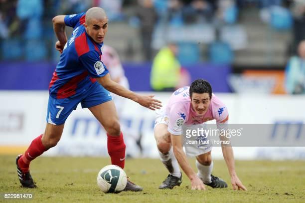 Ahmed KASHI / Guillaume LACOUR Evian Thonon / Chateauroux 23eme journee de Ligue 2 Annecy